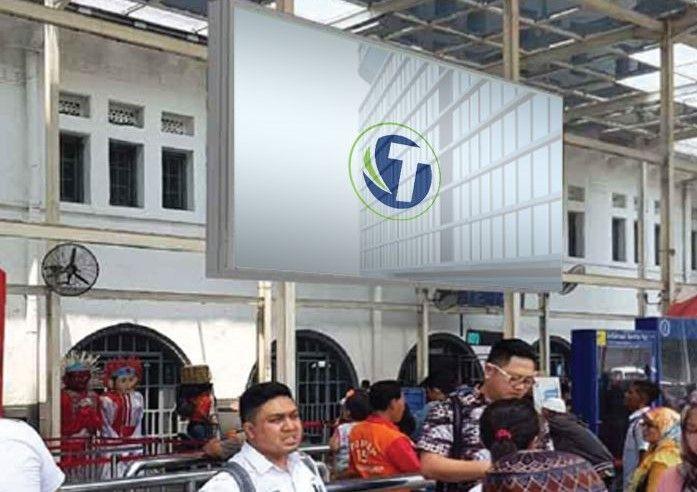 LED PASAR SENEN TRAIN STATION JAKARTA