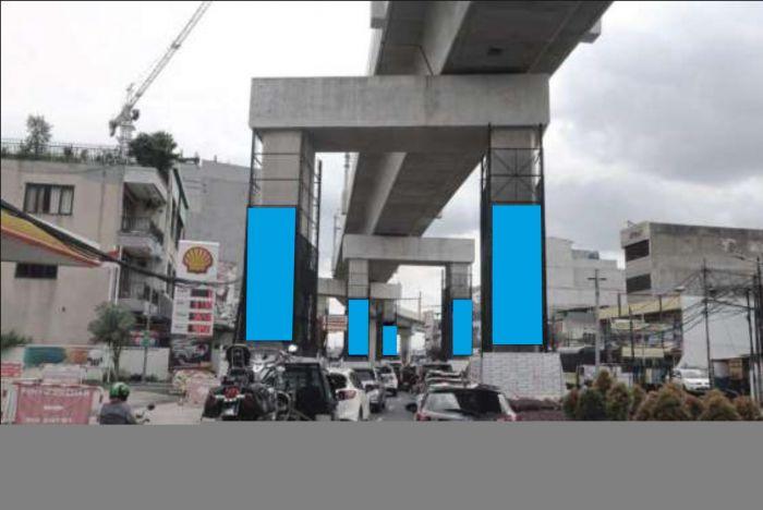 LED Pillars St Cipete Raya - St fatmawati