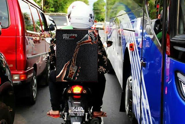 LIGHTBOX MOTOR AREA JAKARTA PUSAT